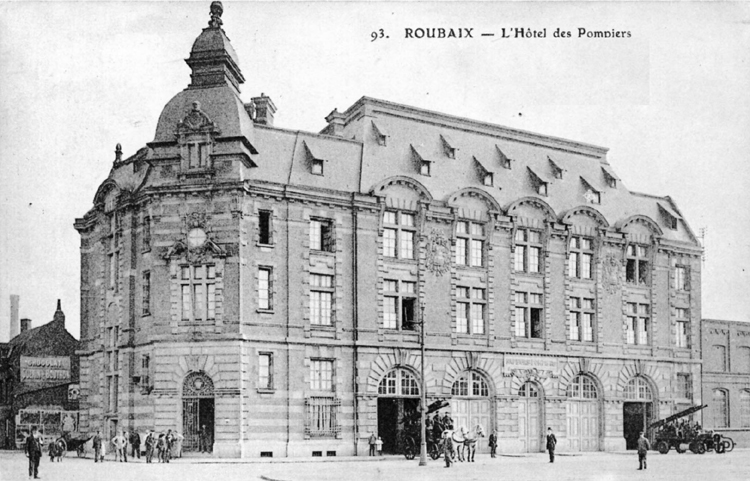 Chroniques de l 39 exposition internationale du nord de la france roubaix 19 - Boulevard gambetta roubaix ...