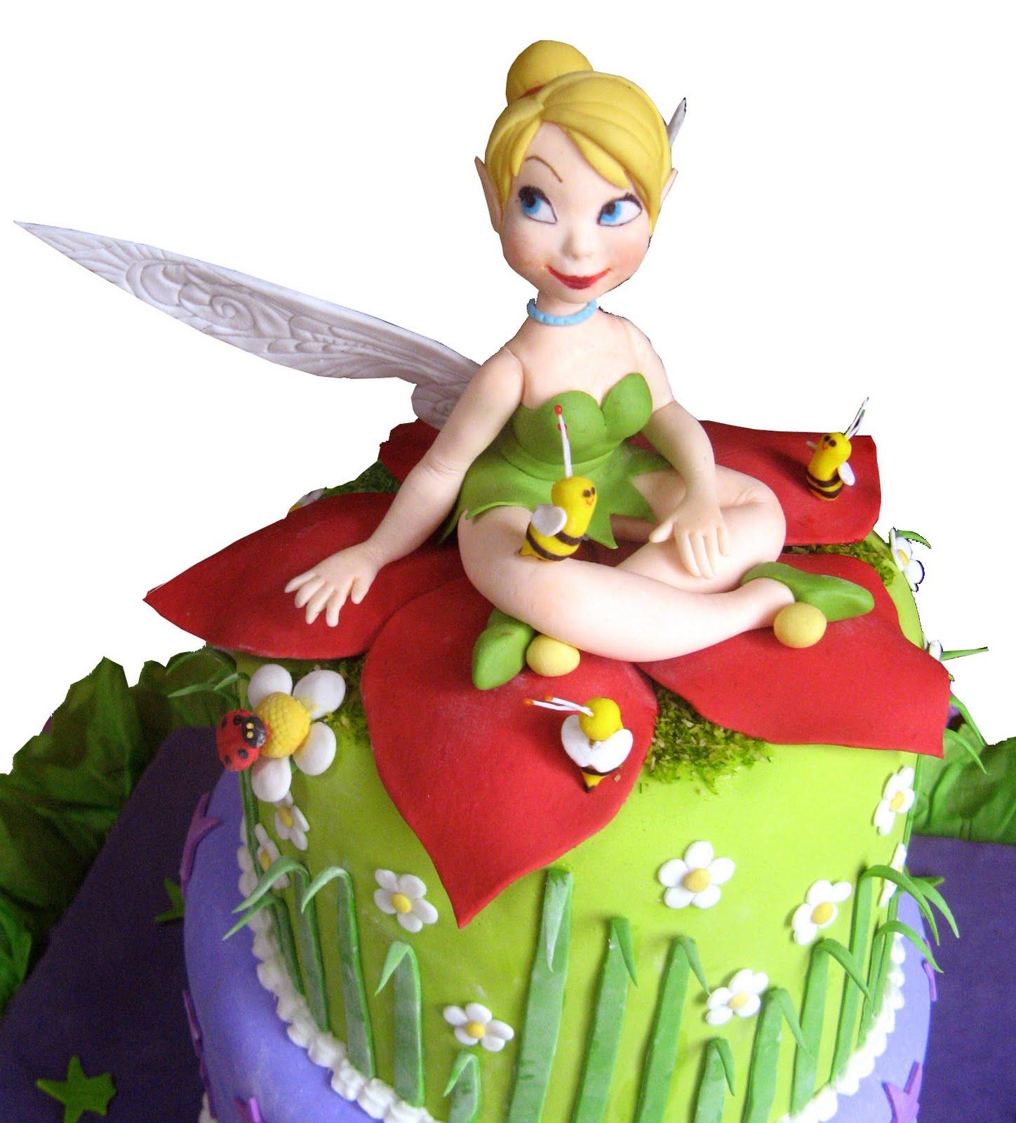 TORTA INFANTILES MARÍA ELENA: Detalle de Torta de Tinker Bell