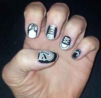 365 Days Of Nail Art Day 60 Nail Art Shoes