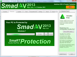 Smadav 9.4 Update 5 Oktober 2013