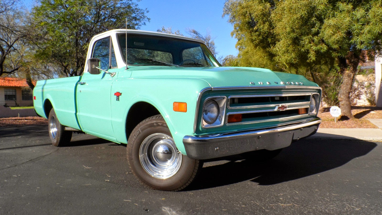 all american classic cars 1968 chevrolet c10 pickup truck. Black Bedroom Furniture Sets. Home Design Ideas