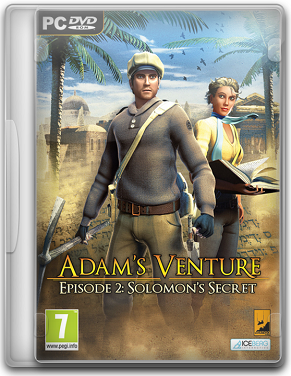 Capa Adams Venture 2: Solomons Secret   PC (Completo)