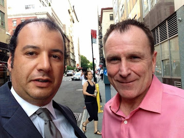 Danya Polykov, Colin Quinn, New-York, 2013