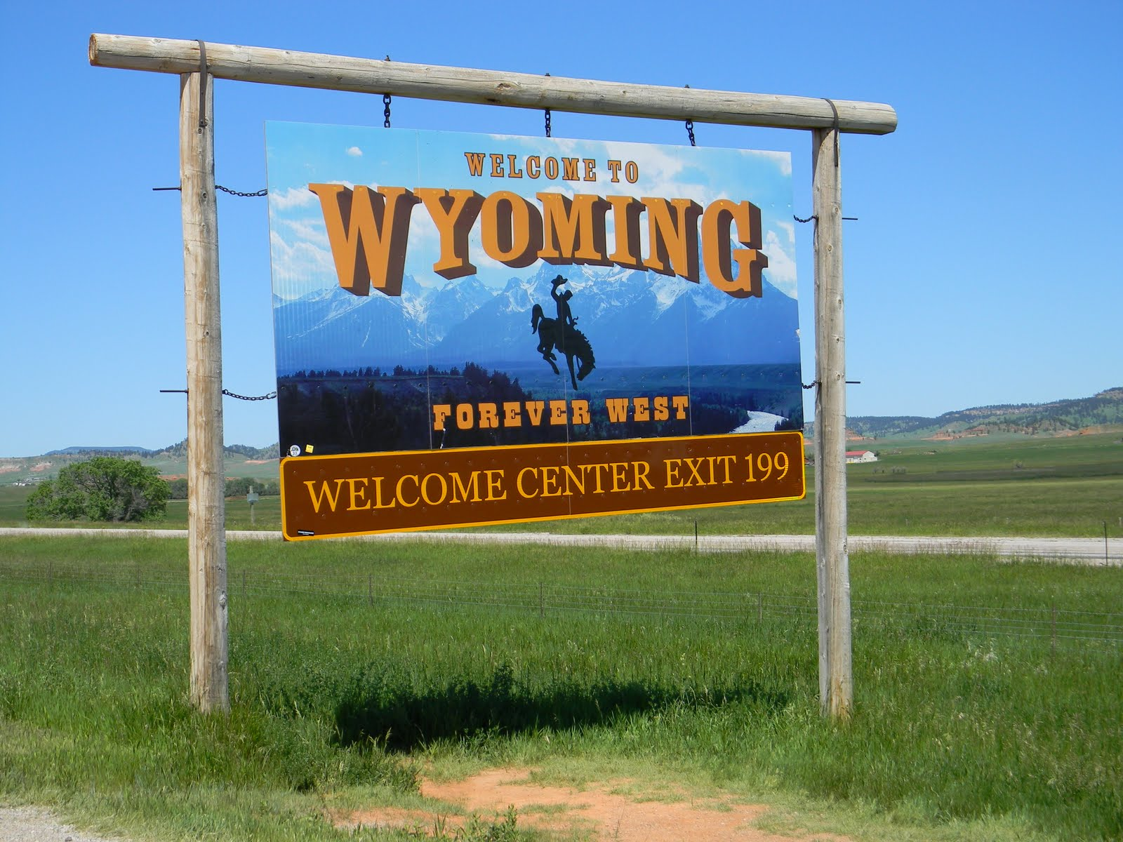 and immediately return to south dakota thus entitling us to add wyoming to our posted map of places we ve been in our trailer
