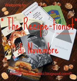 THE RECIPE-TIONIST DI NOVEMBRE