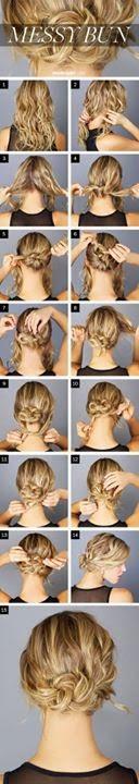 Women Hair Style Tutorials #18..