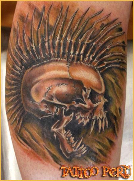 Tatuajes: Consejos antes de hacerse un Tatuaje Craneo_punk