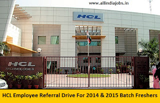 HCL Employee Referral Drive 2016