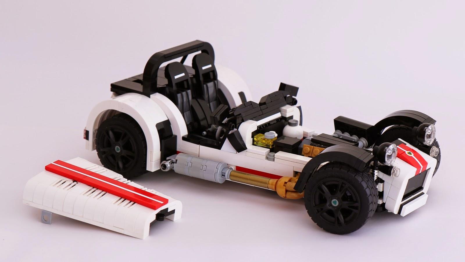 A Lego Caterham R500!