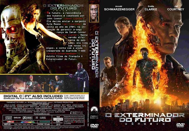 Capa DVD O Exterminador Do Futuro Gênesis