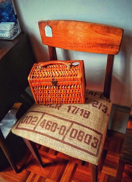 loja, vintage, decoração, cadeira, acessórios