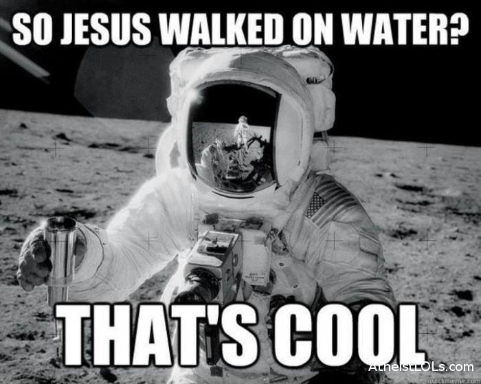moon%2Bwater the lucky atheist another great moon landing meme,Moon Landing Meme