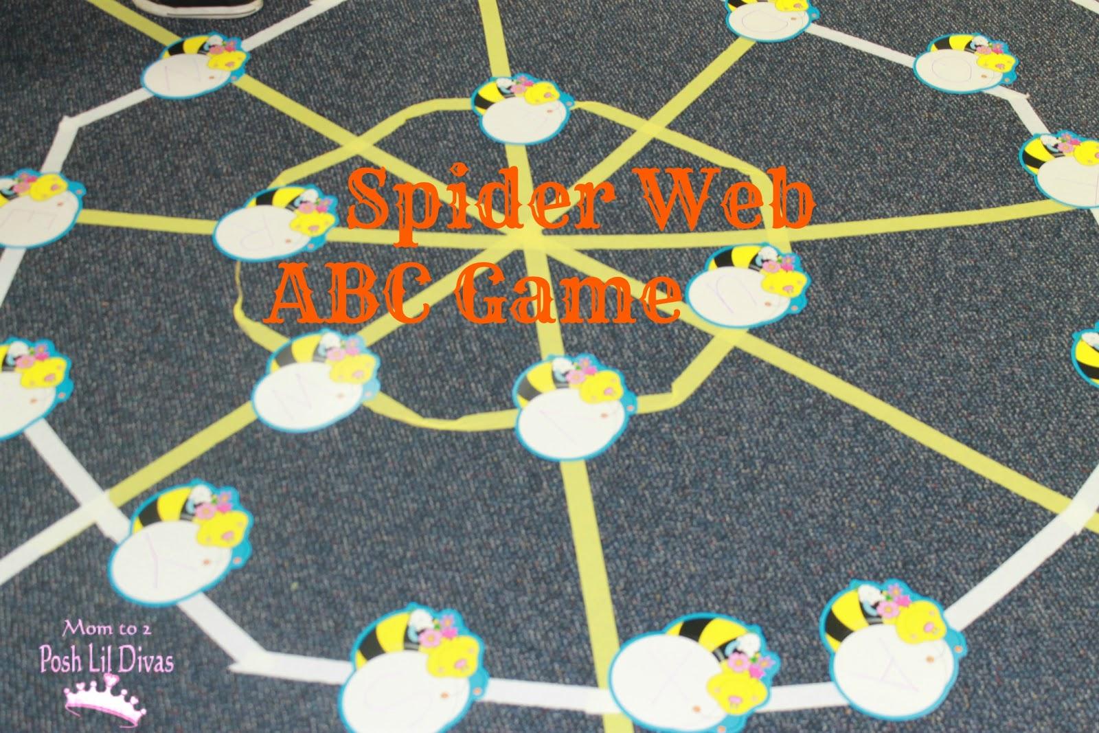Bats N Spiders Floor Web