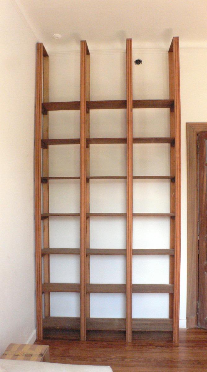 Bibliotecas y estanterias estanterias bibliotecas maderas recicladas de pino brasil - Muebles estanterias de madera ...