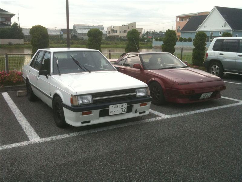 Mitsubishi Lancer II & Toyota MR2 W10
