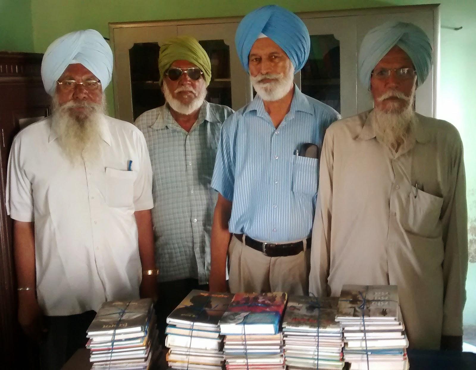 punjabi books library village butahari punjabi writer surinder kailey