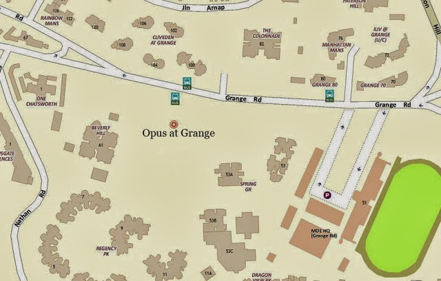 Opus @ Grange Location Map
