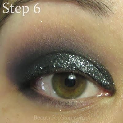 new year's eve makeup tutorial with inglot 361 and 351