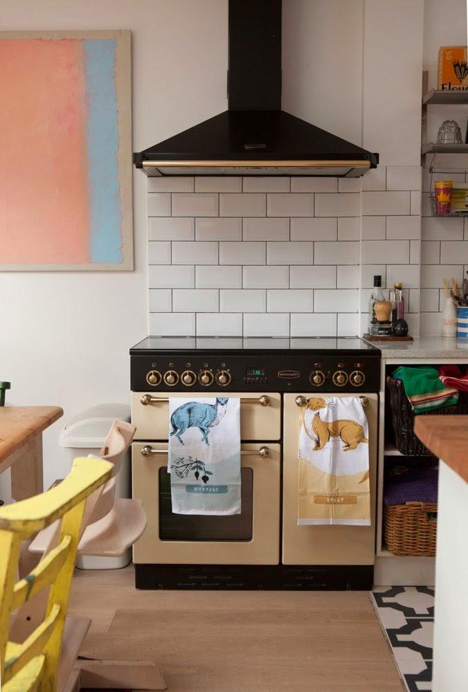 Cozinha vintage, retro