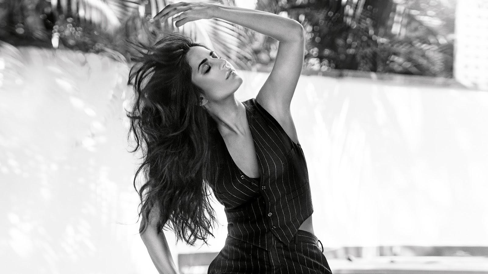 Katrina Kaif Black & White Photo