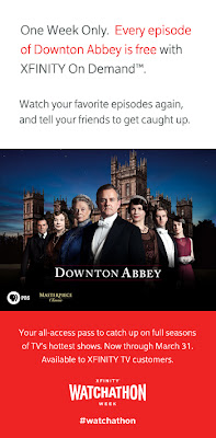 Comcast XFINITY 'Watchathon Week' Includes 'Downton Abbey'
