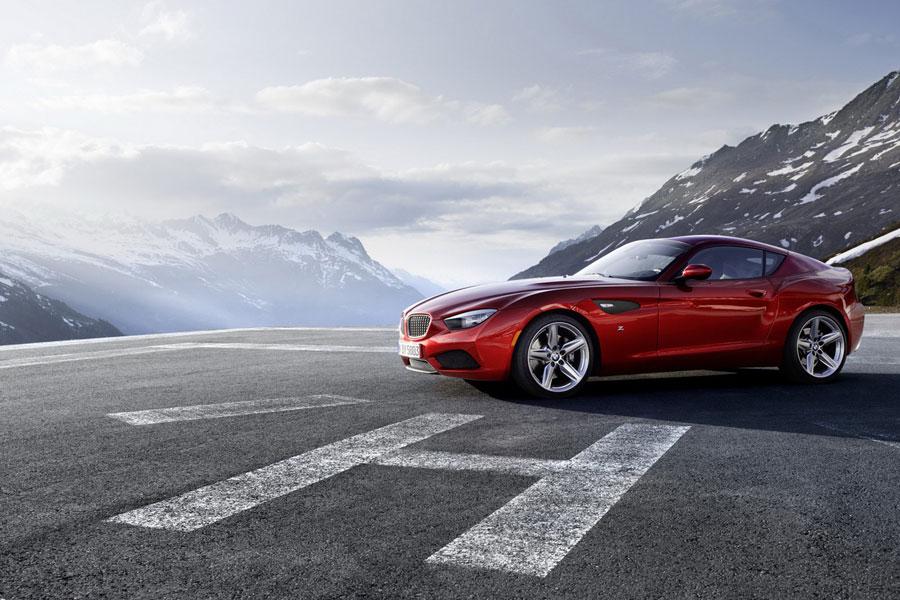 BMW Zagato Coupe One-Off Concept driver side