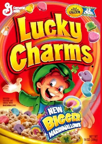 tryin lucky charms