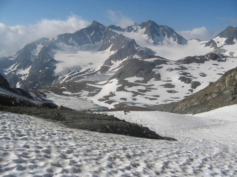 Val Ridanna Ghiacciaio di Malavalle