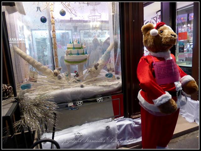 Vitrine Pelé Versailles Noël