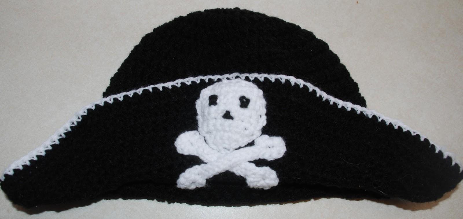 Crochet baby pirate hat pattern dancox for amys crochet creative creations crochet child pirate hat bankloansurffo Choice Image