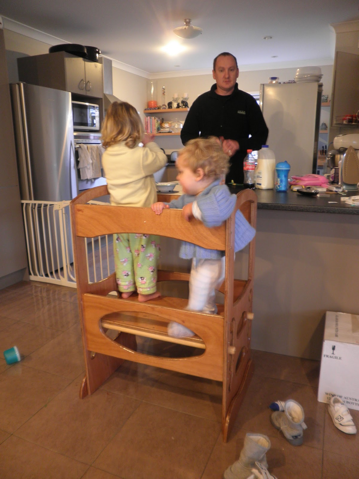 Kitchen Helper Stool For Toddlers