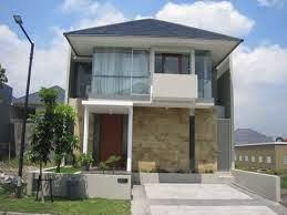 Gambar Bentuk Atap Rumah Minimalis