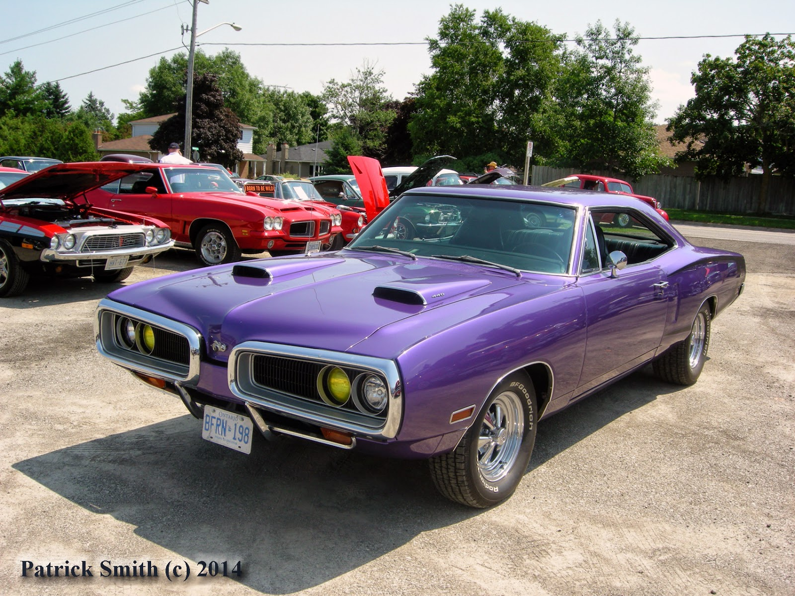 Phscollectorcarworld 1970 Dodge Super Bee Plum Crazy
