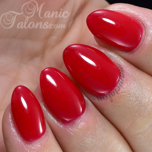 Jessica GELeration Royal Red Swatch