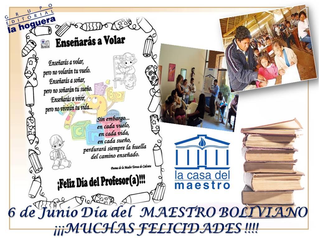 La casa del maestro felicidades maestros bolivianos - La casa del maestro ...