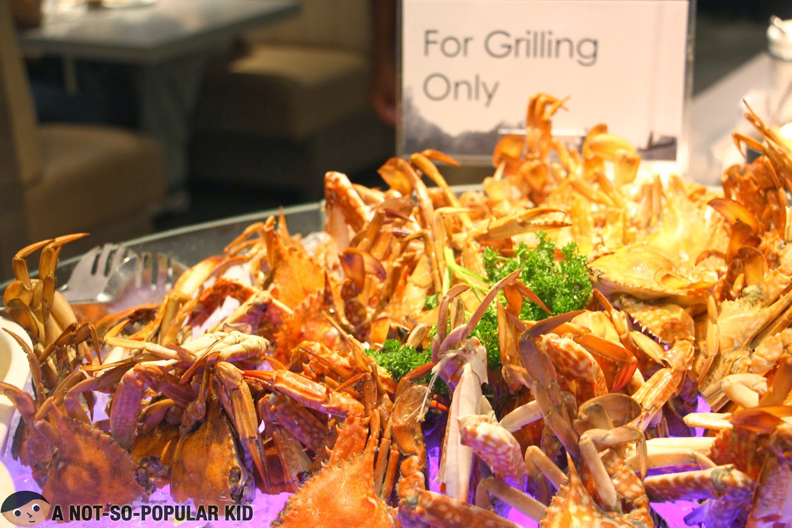 Crabs for Grilling in Vikings SM Megamall