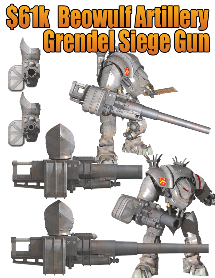 DreamForge-Games : proxy Titan / Chevalier Beowulf+and+Grendel+61k