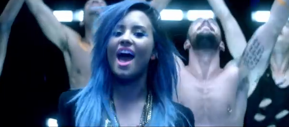 video oficial cancion demi lovato neon lights