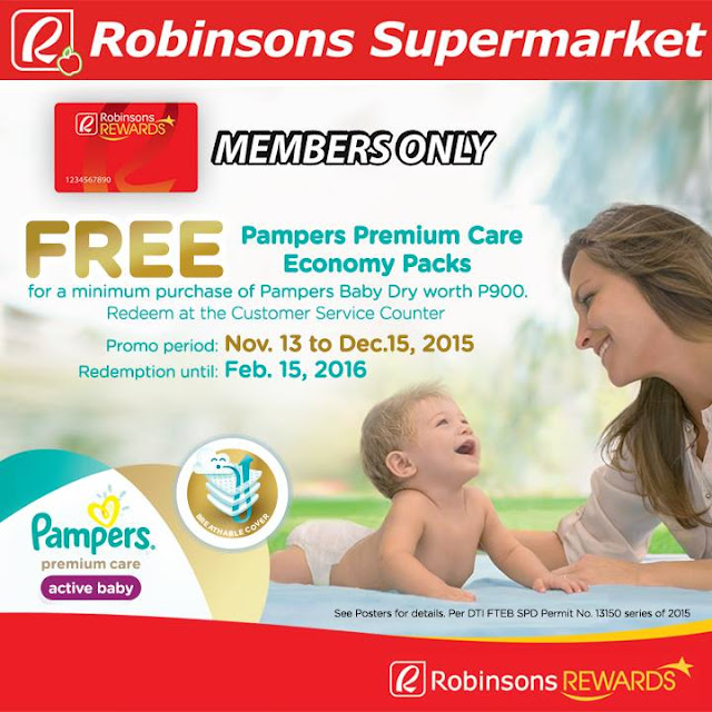 Robinsons Supermarket Rewards Card Promo
