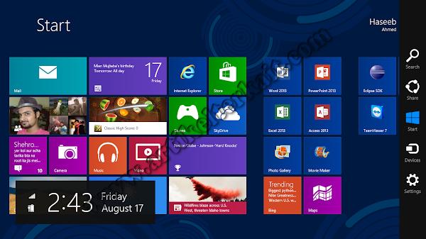 Delapan Fitur Mengagumkan Dari Windows 8