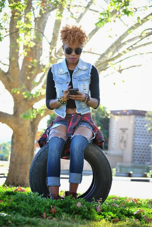 Vakwetu, the look, precious chisanga, denim