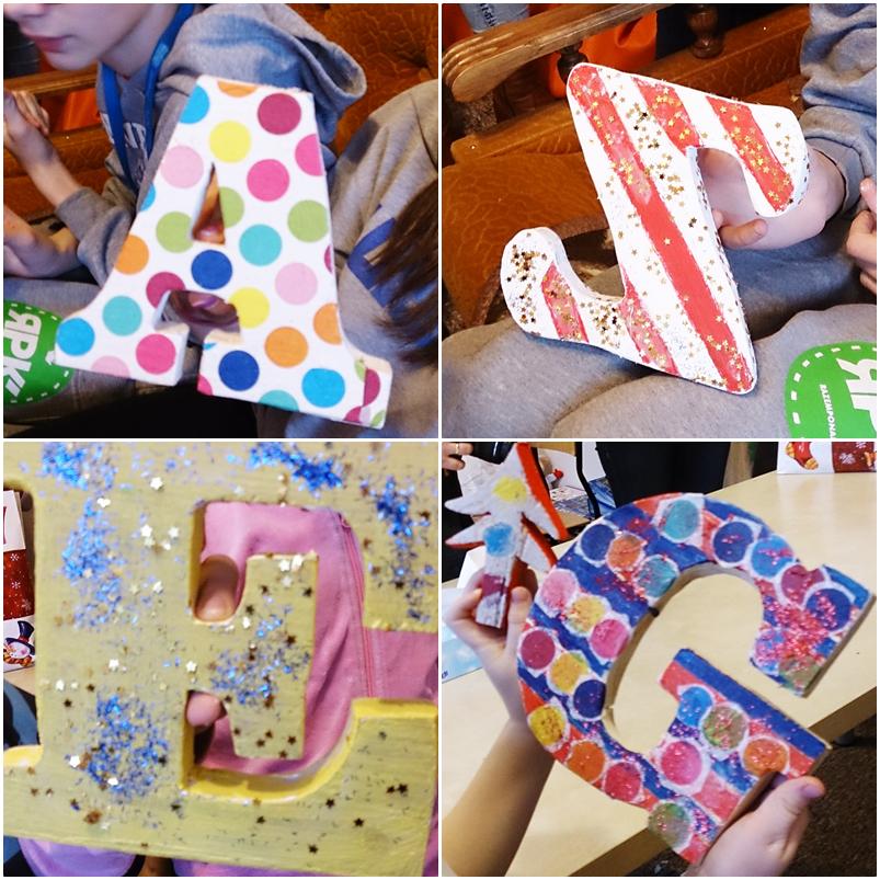 DIY,majsterkowanie,krok po kroku malowanie liter,jak ozdobić litery,warsztaty z dziećmi,fundacja wawel