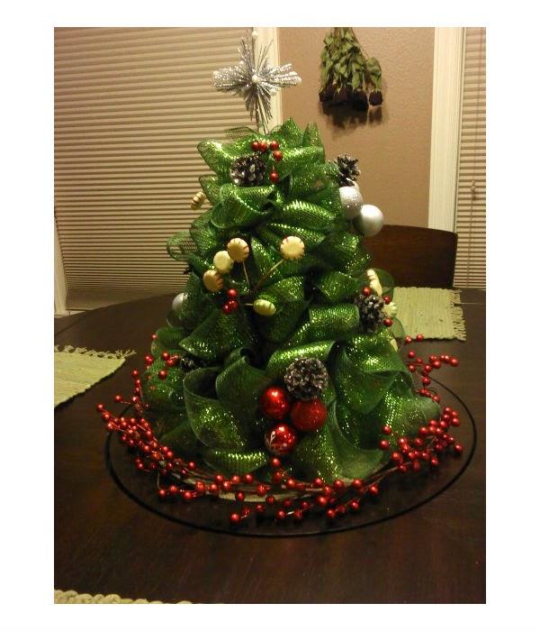 C mo hacer un arbolito de navidad con list n grueso - Como hacer un arbol de navidad ...