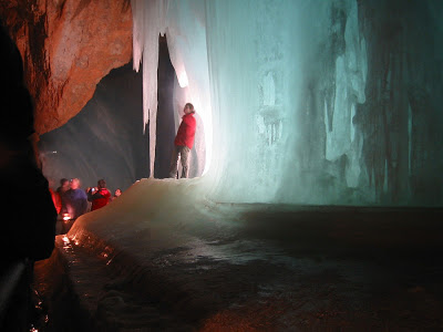 The ice cave Eisriesenwelt - Austria