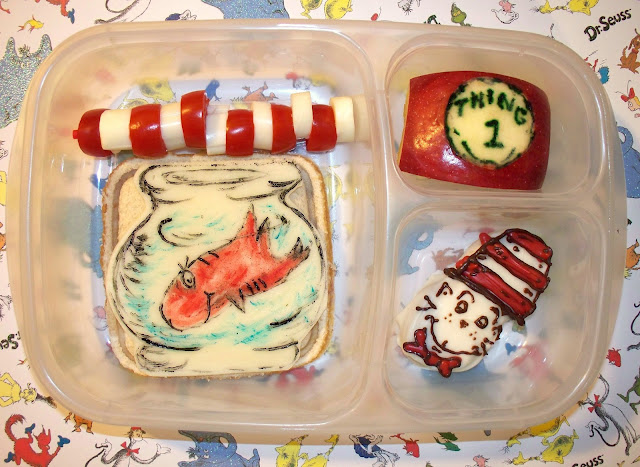 Read Across America and Dr. Seuss Lunch