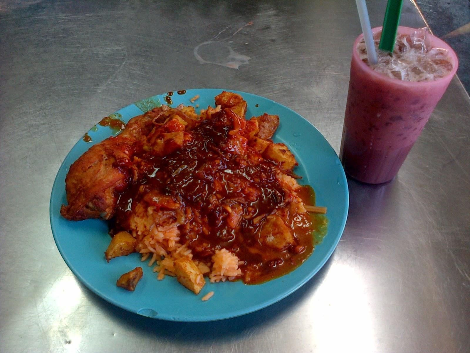 Nasi tomato tarzan, sedap baq hang, Nasi minyak, awesome food, nusantara,