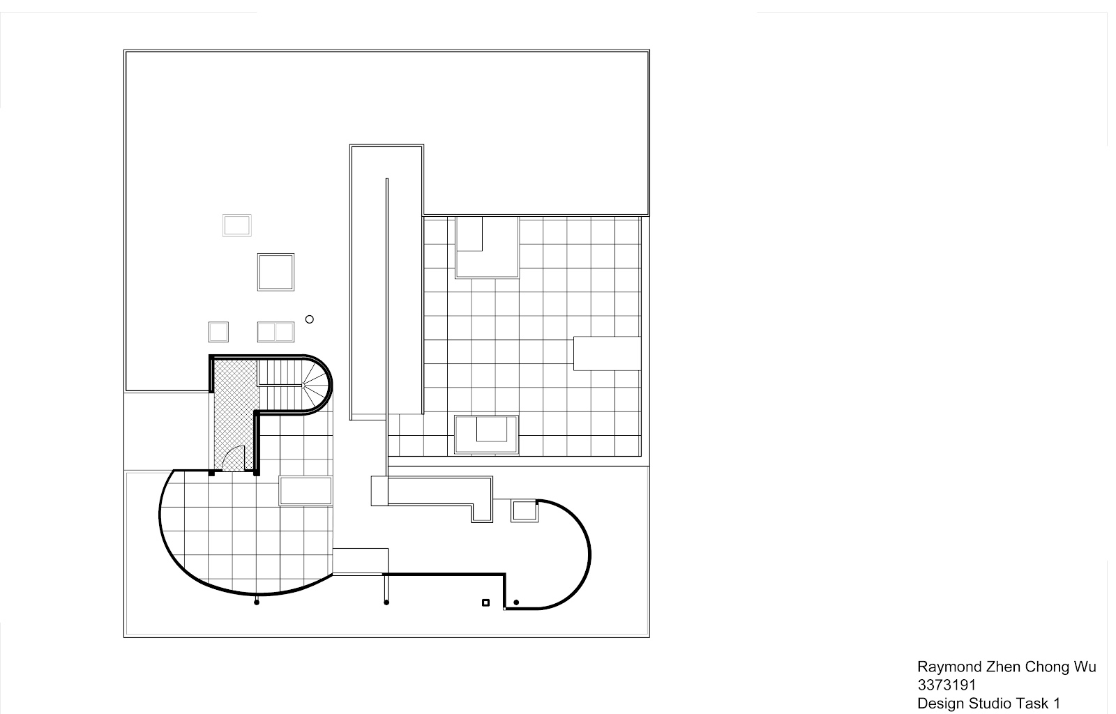 100 villa savoye floor plans gallery of le raymond wu for 100 floors floor 77