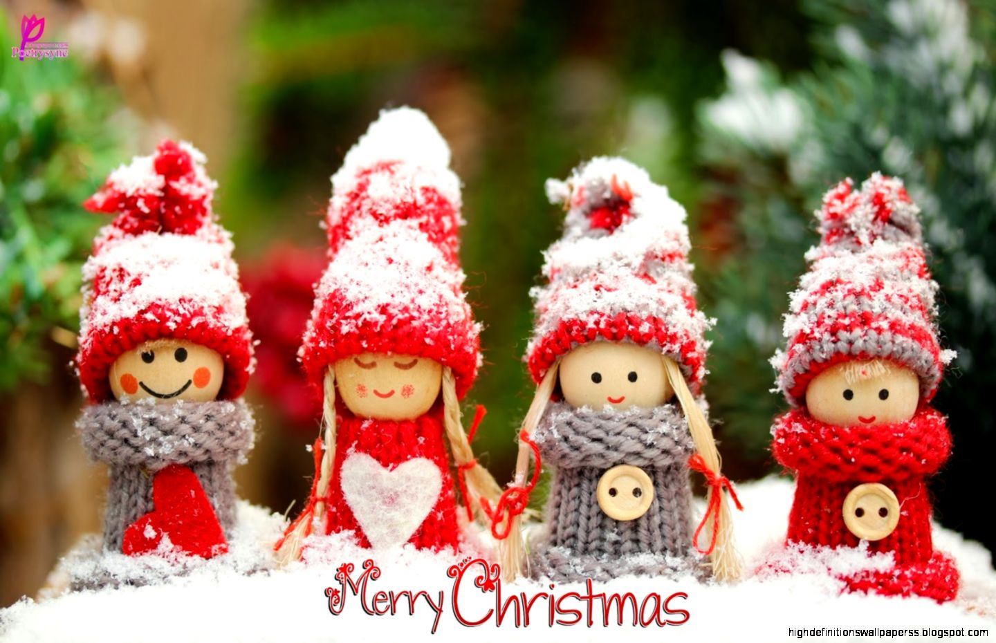 merry christmas cute wallpaper | high definitions wallpapers