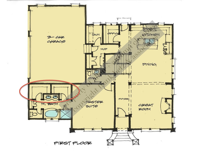 Design dump custom closets on a budget for His and her master bathroom floor plans with two toilets