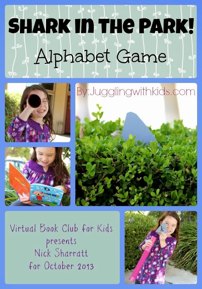 Shark In The Park Alphabet Game Free Printable Virtual Book Club